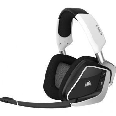 Corsair VOID RGB ELITE Wireless Headset  Zwart, Wit