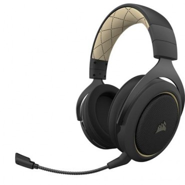 Corsair HS70 PRO WIRELESS Headset  Zwart, Crème