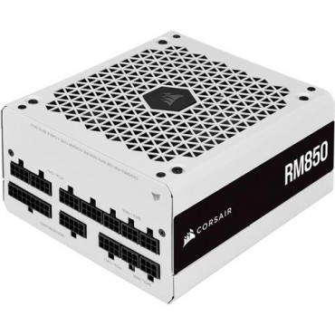 RM White Series™ RM850 — 850 Watt 80 PLUS Gold Fully Modular ATX PSU (EU)